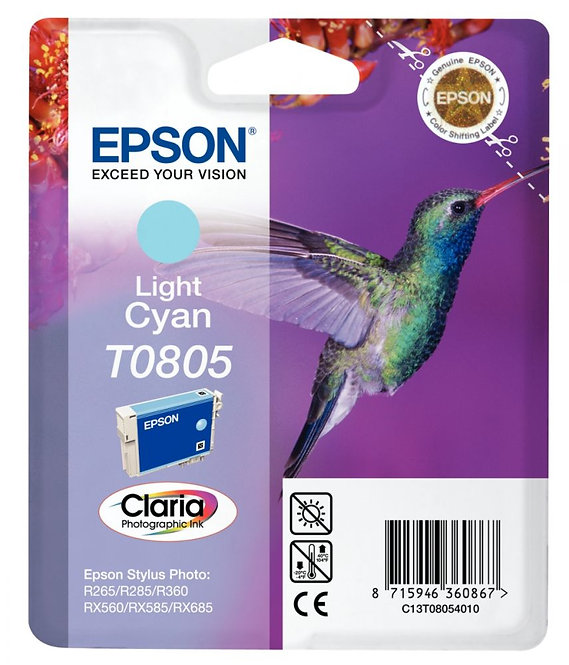 Cartouche à la marque Epson T080540 cyan clair