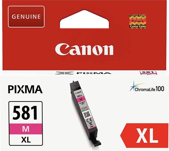Cartouche d'encre à la marque CANON CLI581XLM magenta haute capacité