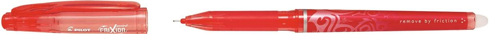 Roller frixion pointe aiguille rouge