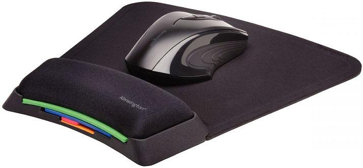 Tapis de souris repose-poignet SmartFit noir