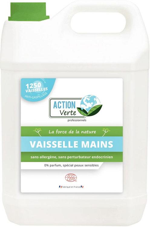 Bidon de 5 litres de liquide vaisselle mains peaux sensible