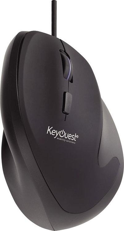 Souris Keyouest optique ergonomique filaire pour droitier