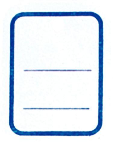 Boîte de 1 000 étiquettes textiles blanches 30x37mm