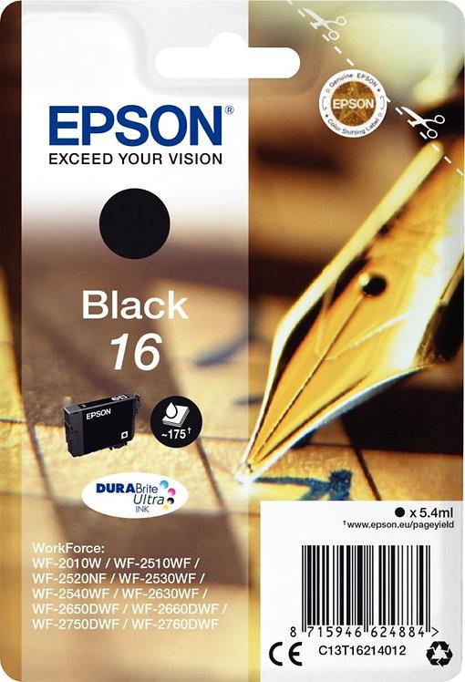Cartouche jet d'encre à la marque Epson T162140 noir
