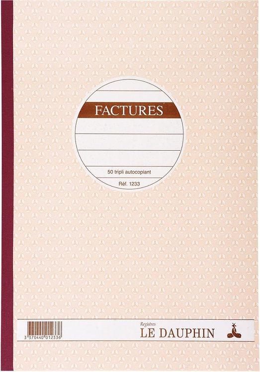 Manifold Factures NCR 21 x 29,7 cm 50 triplicatas