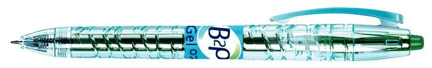 Stylo gel rétractable Pilot B2P 0,7 mm vert