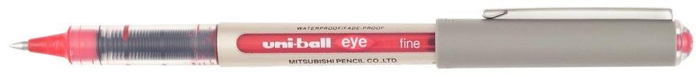 Roller uniball eye UB157 pointe moyenne rouge