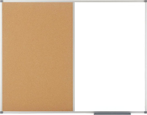 Tableau mixte alu-liège 90x120cm