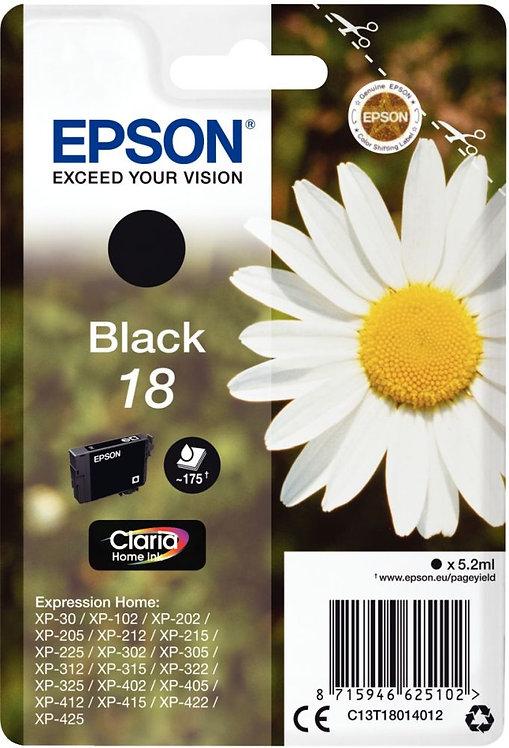 Cartouche jet d'encre à la marque Epson T180140 noir