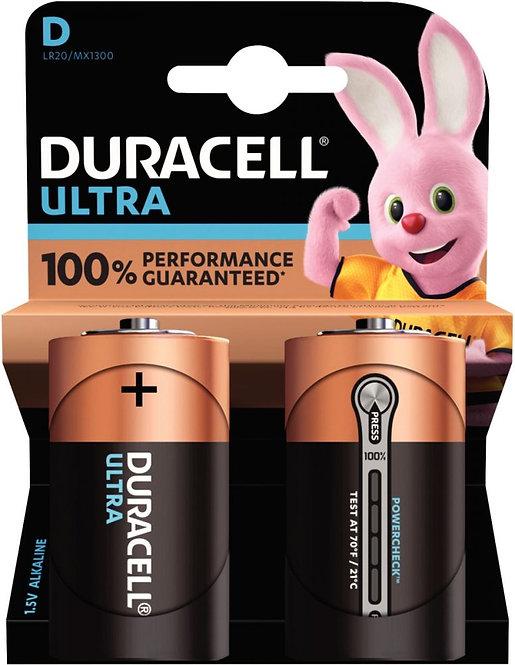Blister de 2 Piles 1.5V Type LR020 ULTRA à la marque DURACELL