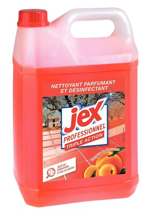 Bidon 5 litres nettoyant multi-usages désinfectant parfum vergers de provence