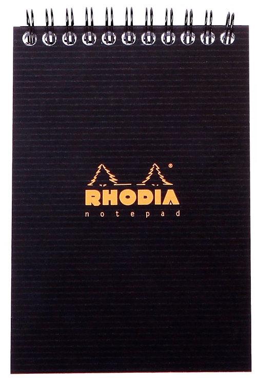 Bloc Notepad RHODIACTIVE à reliure intégrale 80 Feuillets microperforés A6