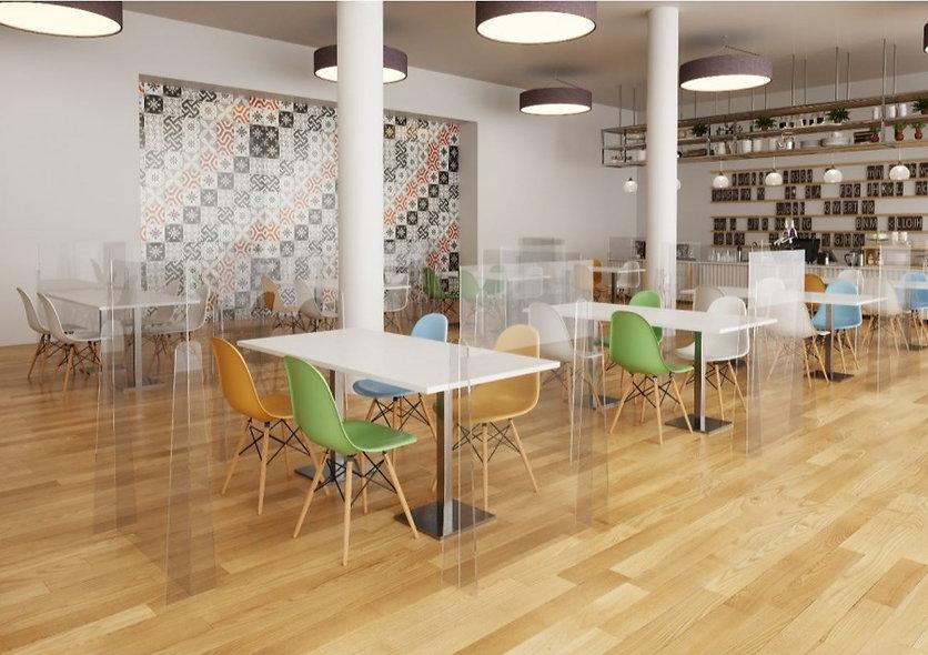 Séparateur Plexiglas XL pour restaurant - BIGGY