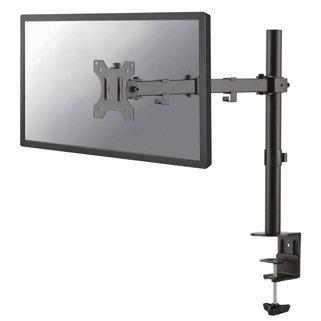 Bras support écran ergonomique 4 articulations sur pinces