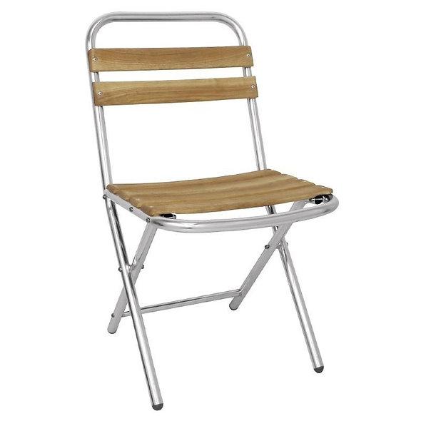 Chaise pliante SIDNEY  - Lot de 4