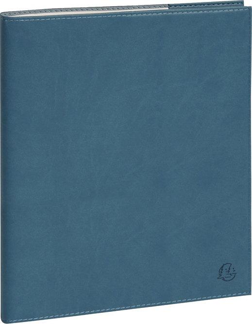 Agenda semainier de bureau horizon 27 bleu canard
