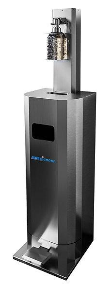 Distributeur de gel hydroalcoolique sans contact des mains
