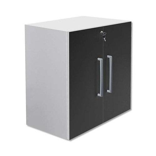 Armoire basse Bip - 2 portes mélamine