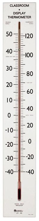 Thermomètre de Classe Géant 75cm