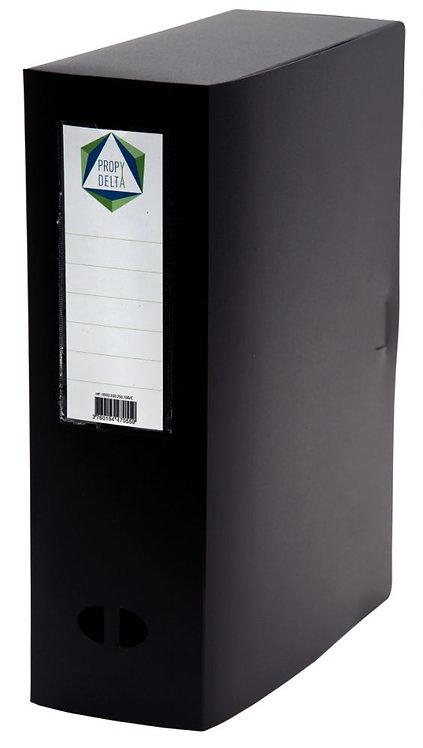 Boite de classement en polypropylène, dos 100 mm, coloris noir