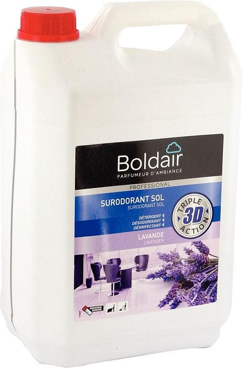 Bidon 5 litres nettoyant surodorant désinfectant lavande