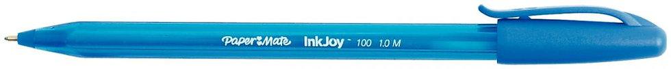 Stylo bille Papermate InkJoy 100 bleu