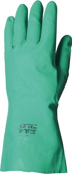 Paire de gants nitrile vert taille 09