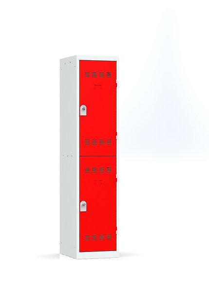 Vestiaire multicases - 1 colonne - 2 cases