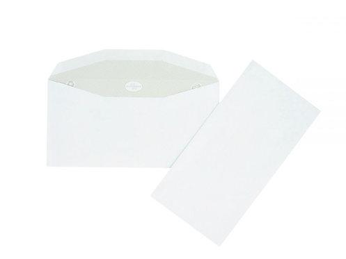 Boîte 1000 enveloppes blanches 115x225 80g/m² de mise sous pli automatique gommé