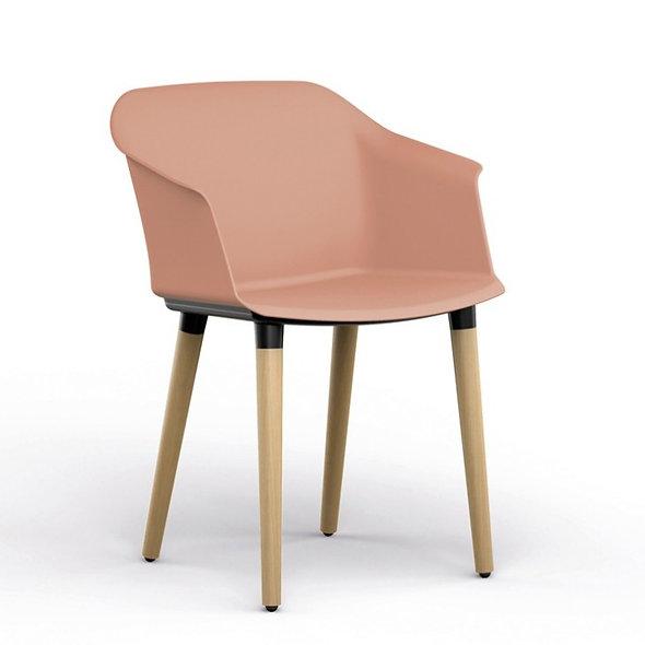 Chaise MILY - Piétement bois