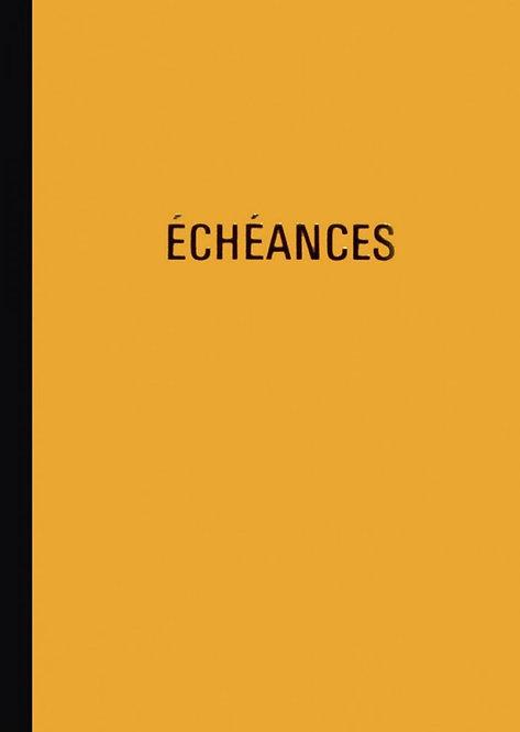 Piqûre échéancier de 100 pages format 21 x 29,7 cm