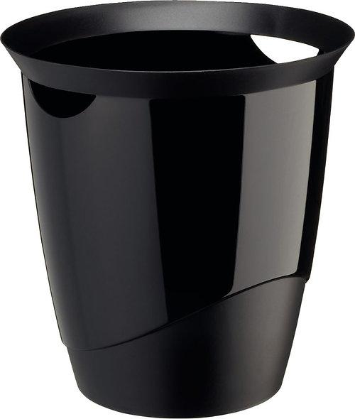 Corbeille à papier TREND 16 litre noir