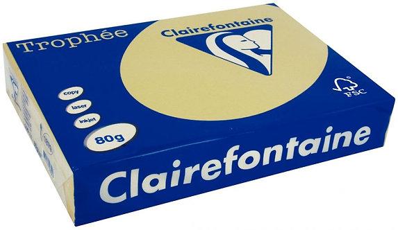 Ramette 500 feuilles de papier 80g A3 caramel TROPHEE CLAIREFONTAINE