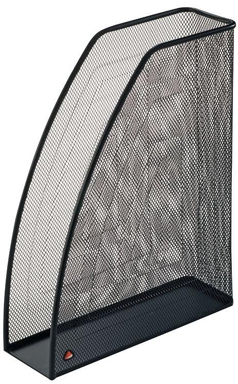 Porte revues en métal mesh noir