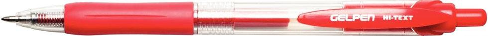 Stylo encre gel rétractable FX7 rouge