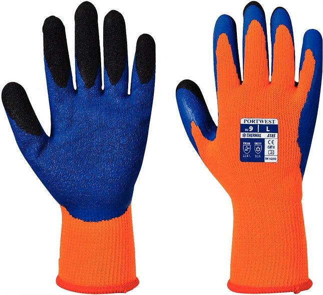Paire de gants anti froid orange taille 10