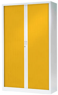 Armoire 198 x 120 GENERIC blanc jaune_ed