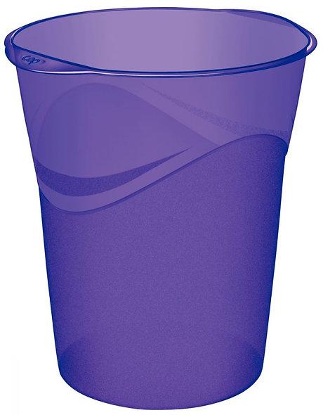 Corbeille à papier CEP PRO HAPPY violet