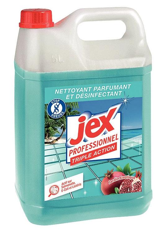 Bidon 5 litres nettoyant jardin exotique