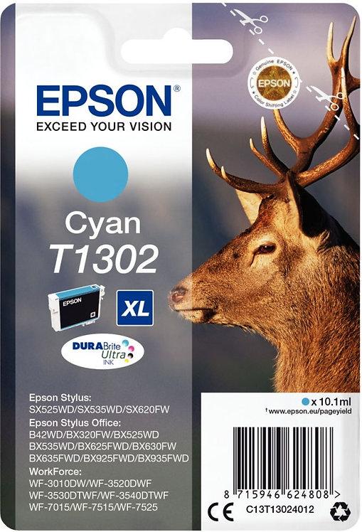 Cartouche jet d'encre à la marque Epson T130240 cyan très haute capacité