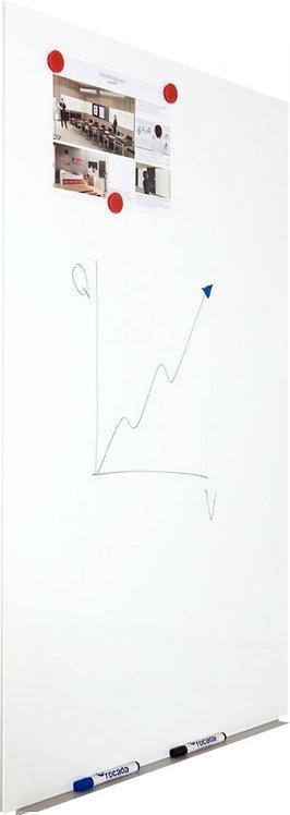 Tableau blanc magnétique sans cadre Skin 115x75cm