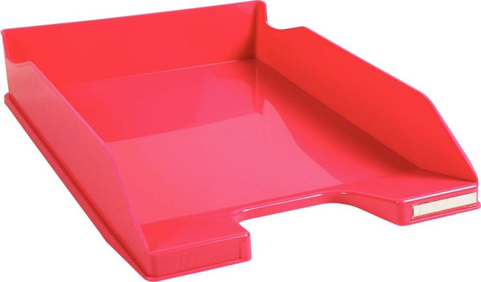 Corbeille à courrier A4+ rose gloss
