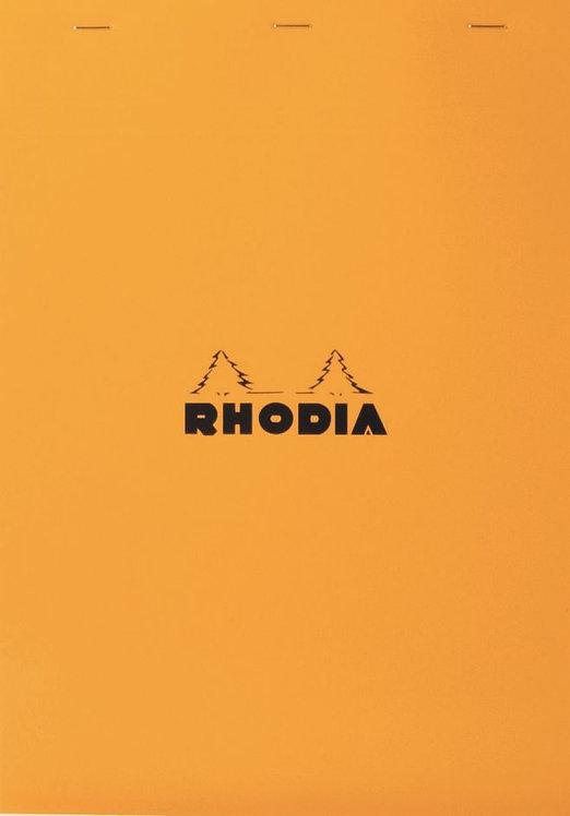 Bloc bureau Rhodia 80 feuilles microperforées détachables blanc 80g A4 5x5