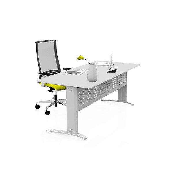 Table de bureau Sumsum - Piétement gris aluminium