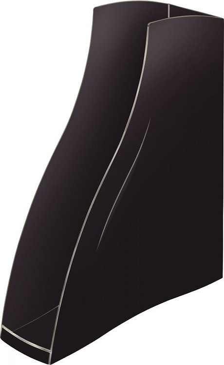 Porte-revues recyclé ELLYPSE OWA noir