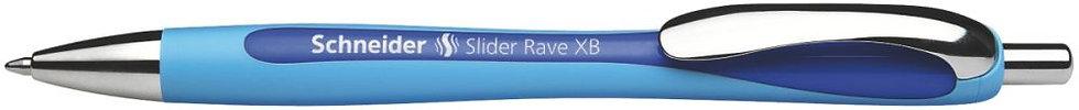 Stylo bille Slider Rave rétractable bleu