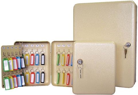 Armoire pour 80 clés + 80 portes clés gris