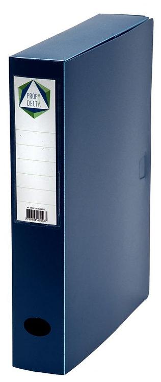 Boite de classement en polypropylène, dos 60 mm, coloris bleu