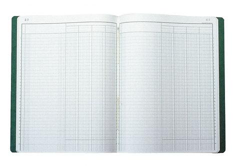 Piqûre 80 pages 4 colonnes sur 1 page format 25 x 32 cm à la française