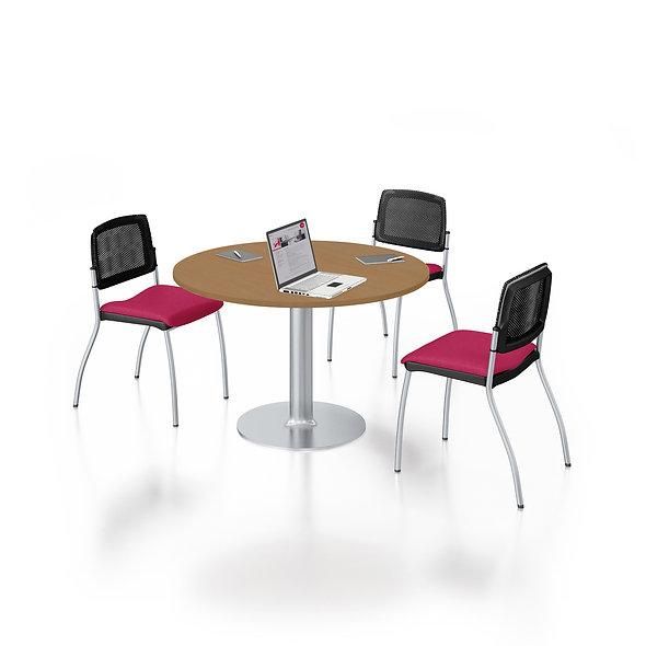 Table de réunion ronde  HAFUR - Piétement tulipe central